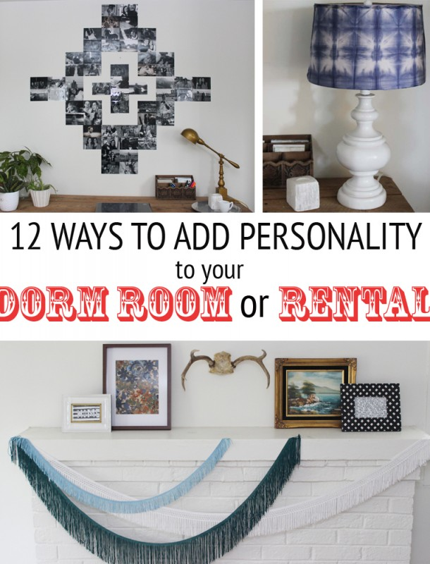 12 Affordable Ways to Add Personality to Your Dorm Room or Rental
