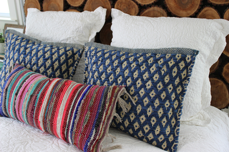 DIY Textured Pillows