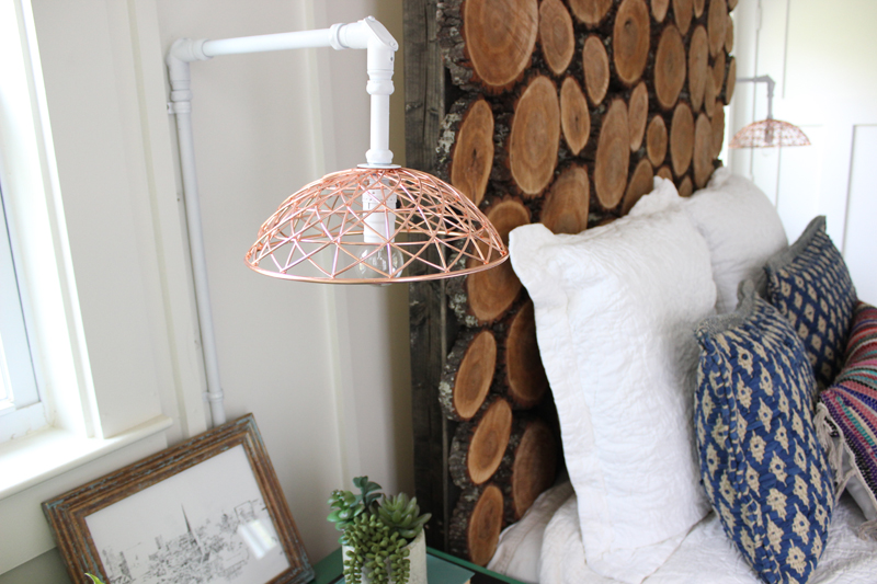 DIY Industrial Pipe Sconce