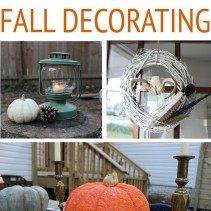 8 Must-haves for Fall Decorating