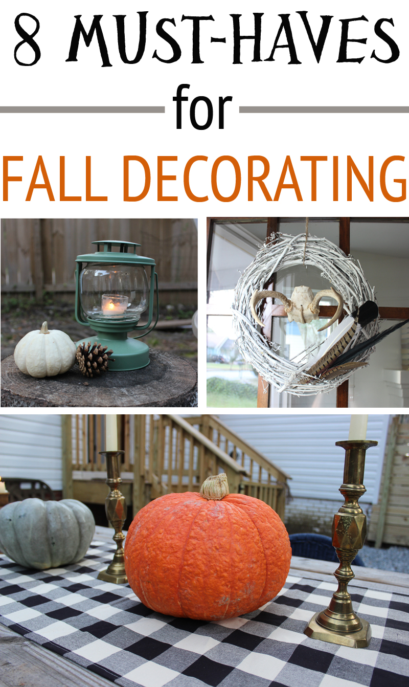 Must Haves For Fall Decorating