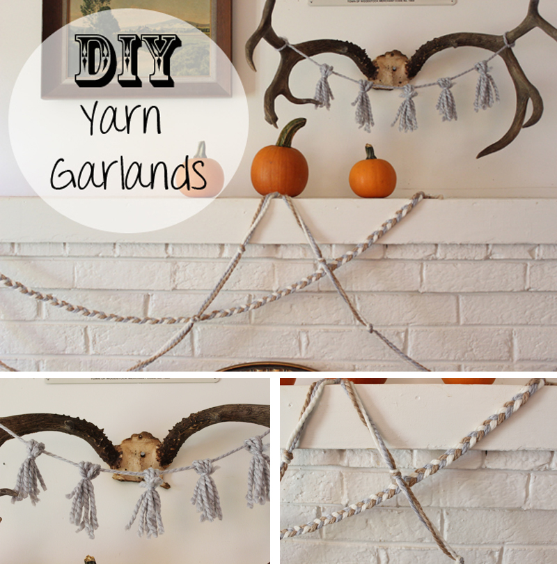 DIY Yarn Garlands