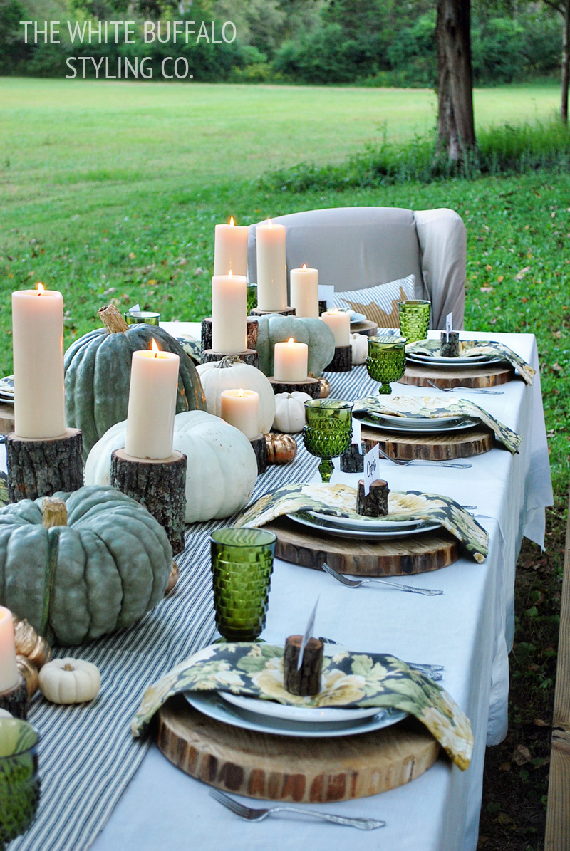 Fresh Fall Tablescape