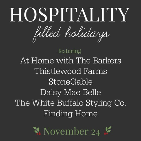 Hospitality filled Holidays-At Home with The Barkers