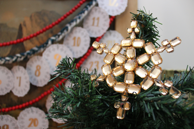 diy-advent-tree