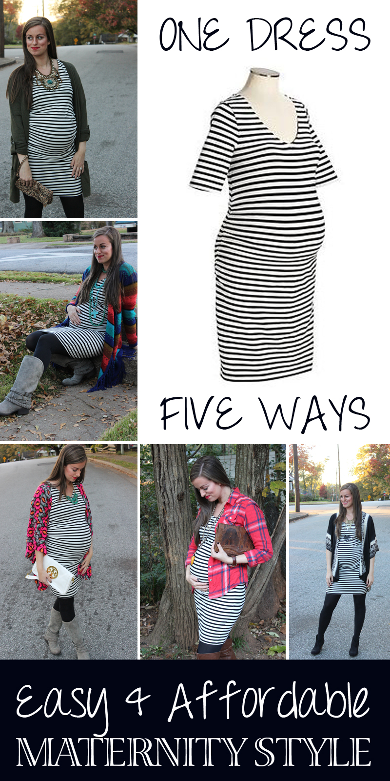 Easy and Affordable Maternity Style