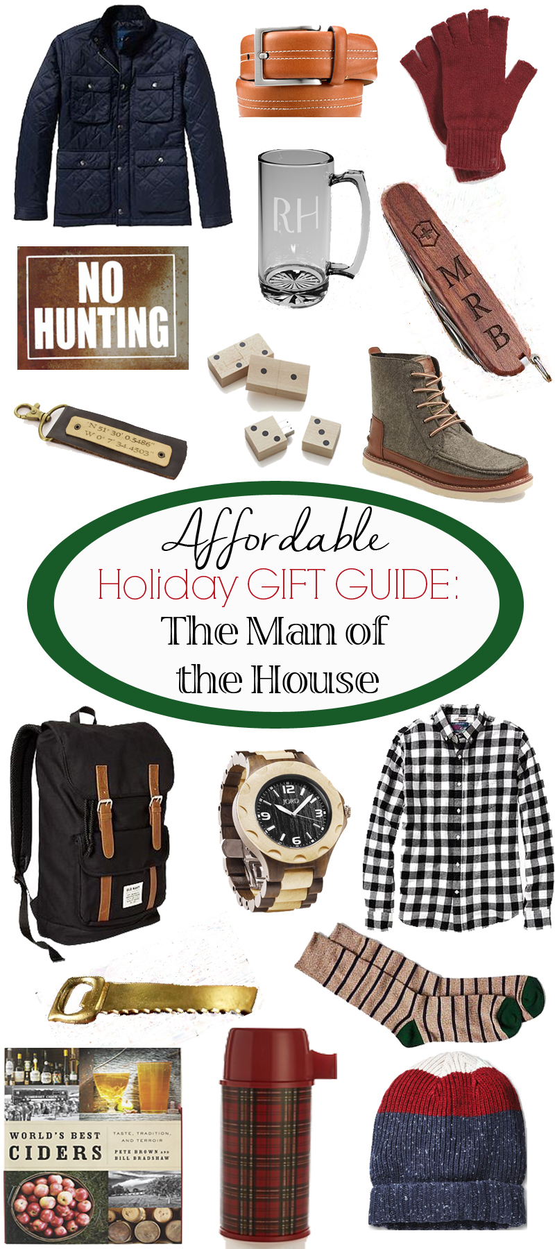 Affordable Gifts for the Man of the House