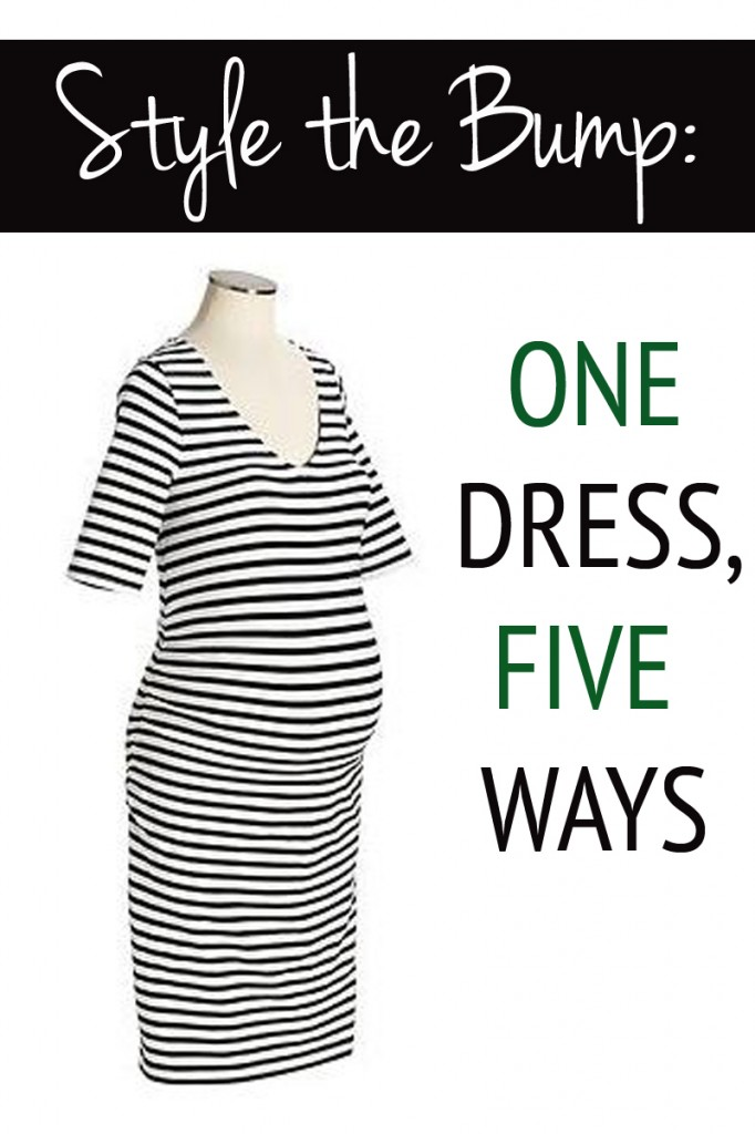 Style the Bump: One Dress, Five Ways