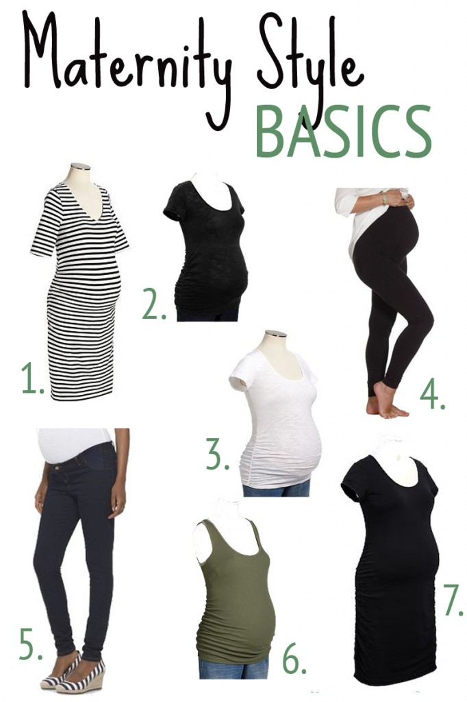 Great Maternity Style Basics