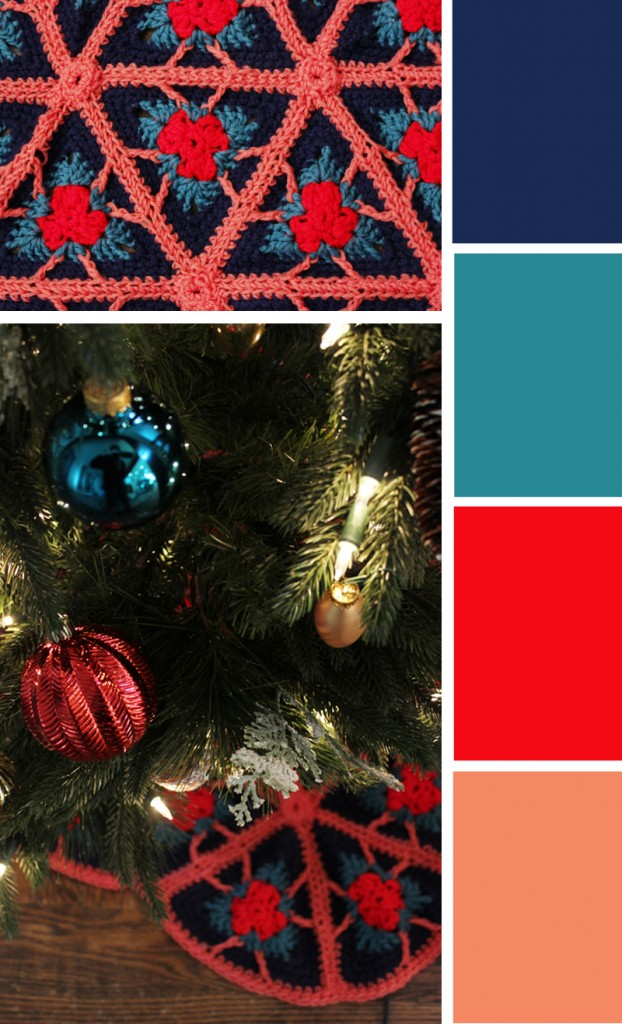 Christmas color scheme
