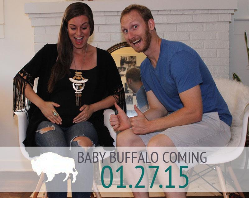 BABY BUFFALO COMING