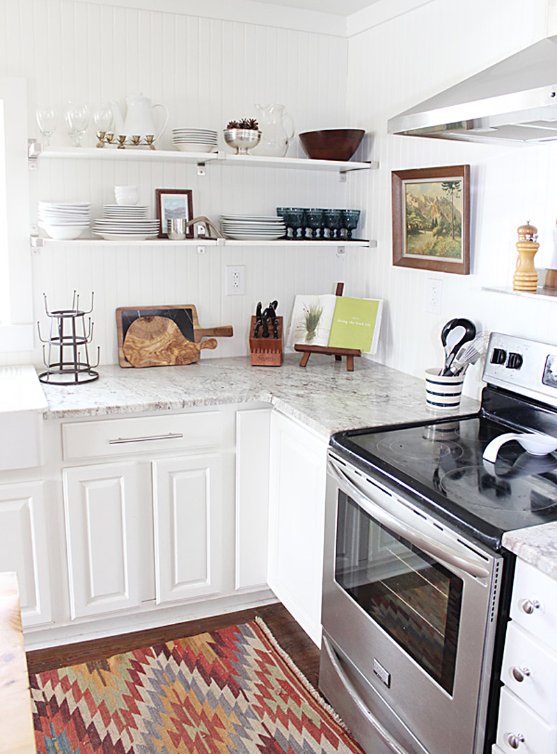 Our Kitchen on Yahoo Makers! - thewhitebuffalostylingco.com