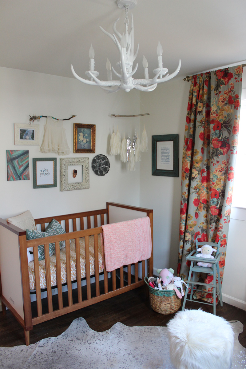 Softening Feminine Touches With Rustic