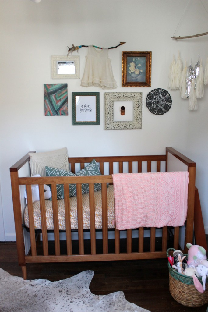 Boho Nursery Gallery Wall