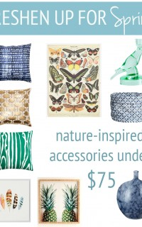 nature-inspired spring accessories