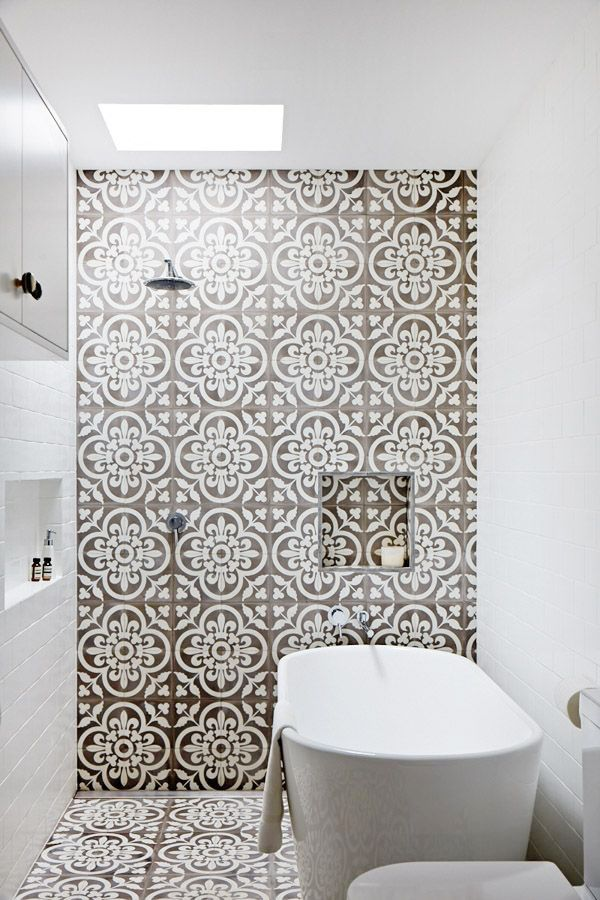 Trend Spotting: Patterned Tile - thewhitebuffalostylingco.com