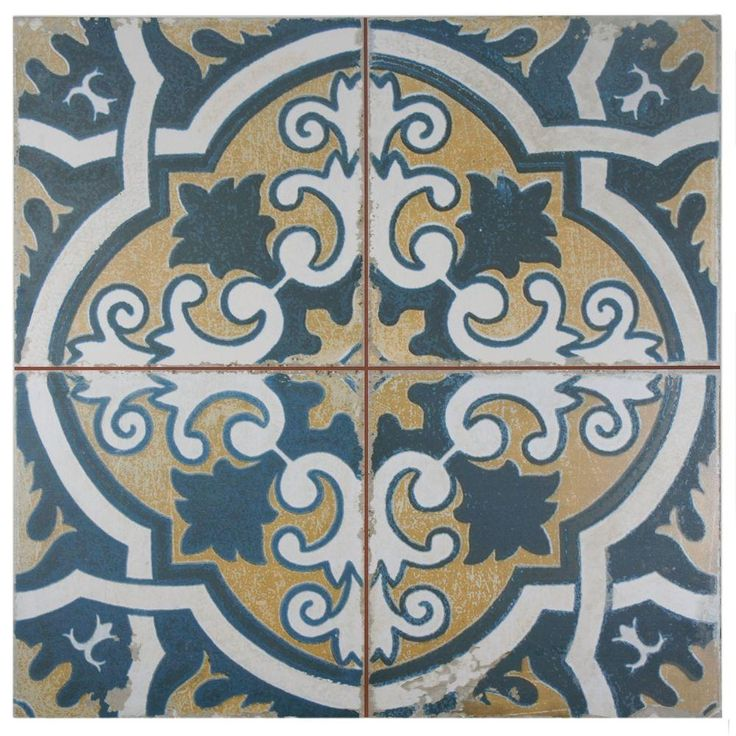 Moroccan-inspired Tile