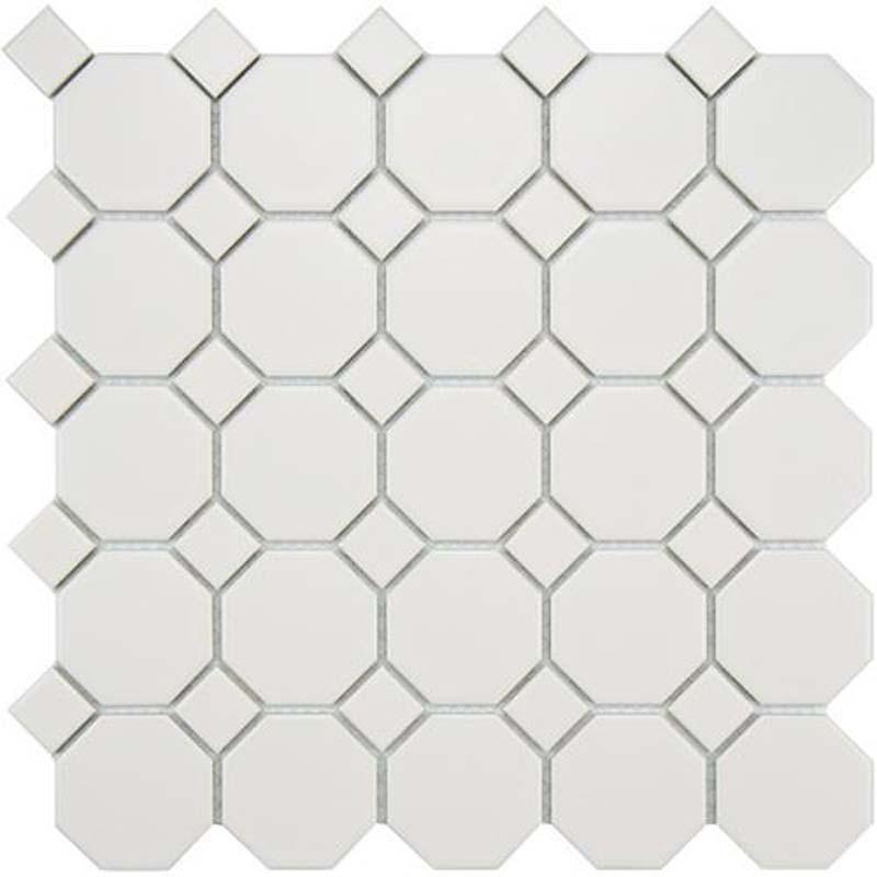 White Octagonal Tile