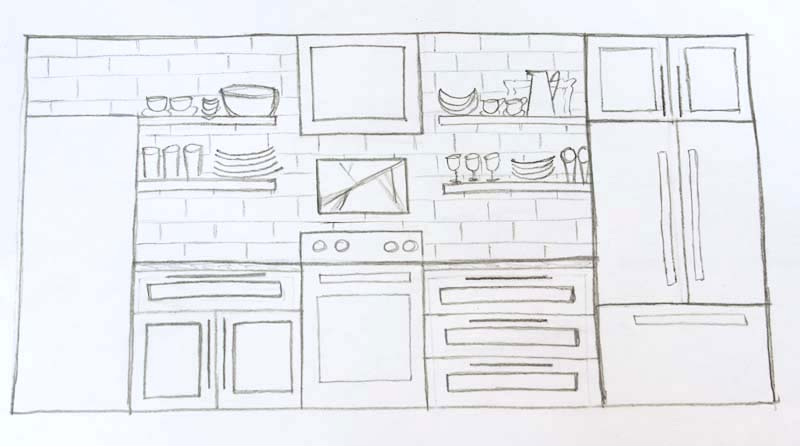 kitchen elevation 2