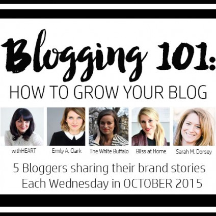 blogging 101 series