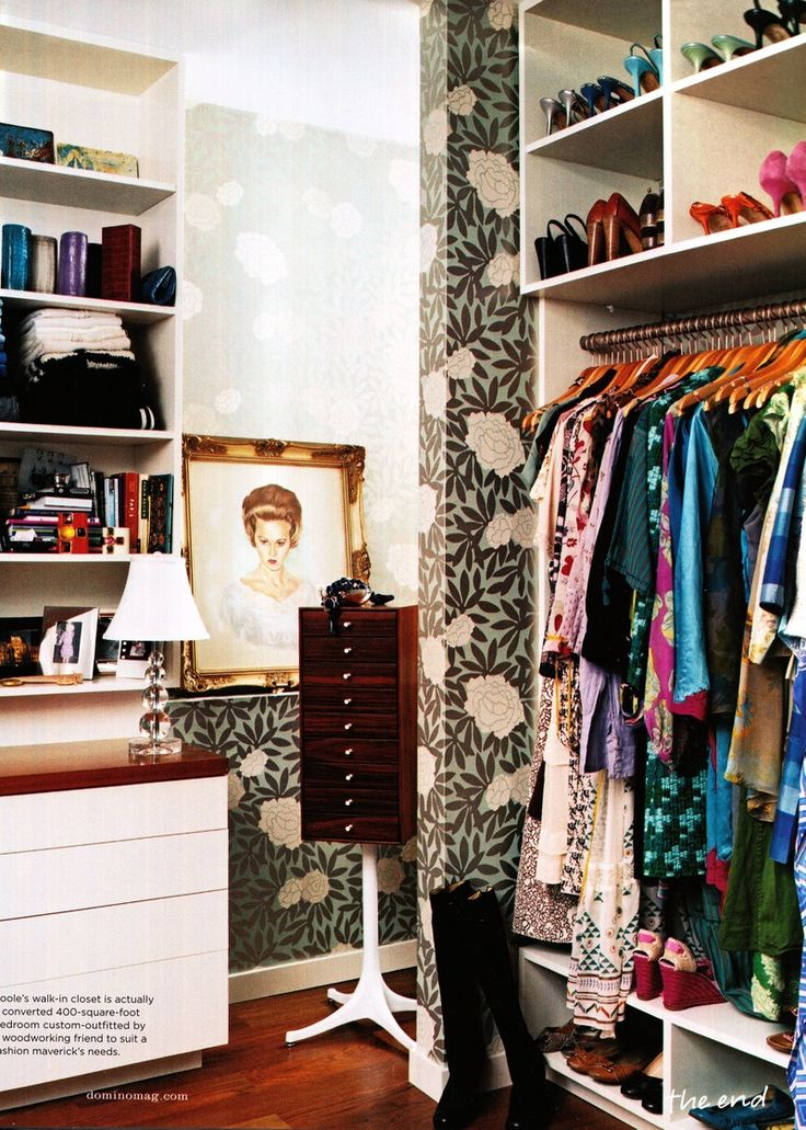 Closet with Personality