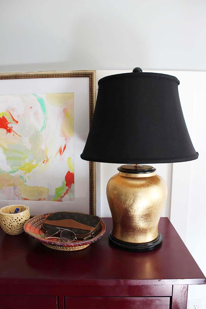 gold-lamps-with-black-shades