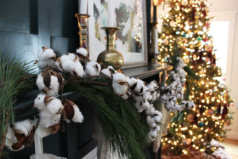 cotton-garland