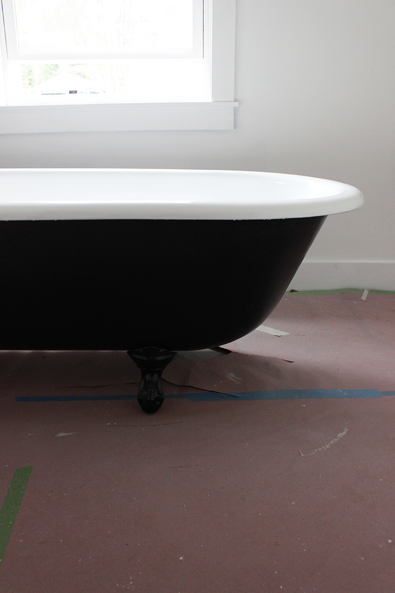 100 painting a clawfoot tub up up and away moving a 350lb clawfoot tub upstairs old town - Painted clawfoot tub exterior pict ...