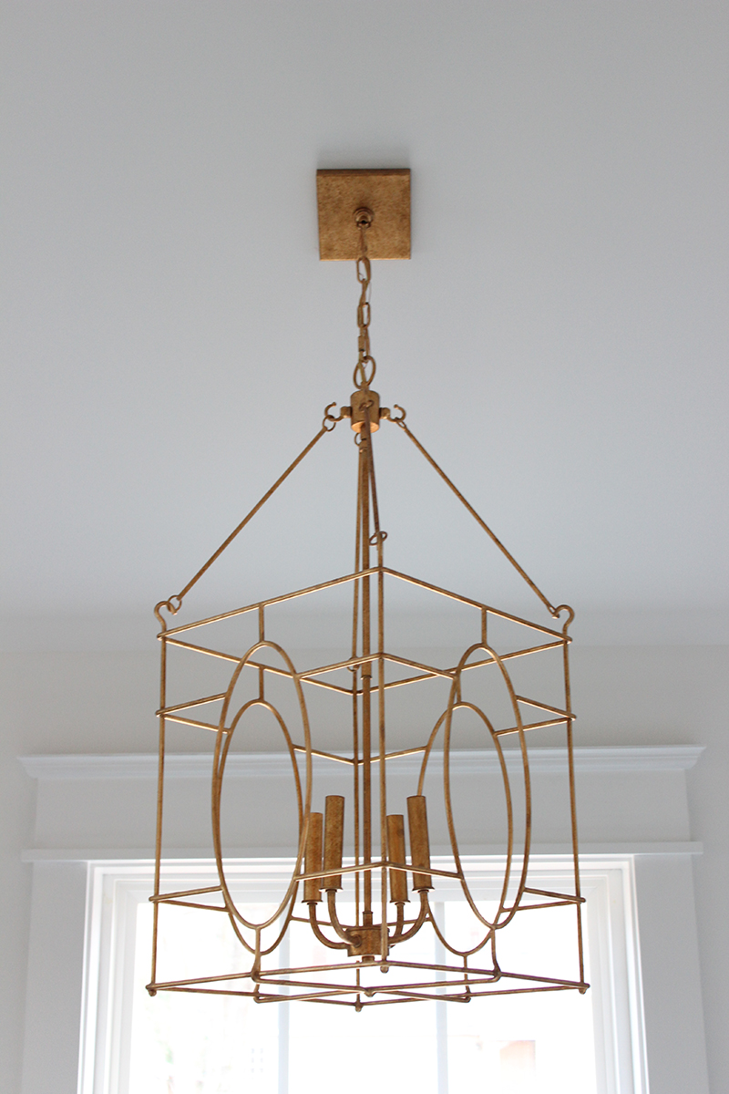 Swaging a light fixture lighting designs a brass lantern for the master bath thewhitebuffalostylingco com arubaitofo Image collections