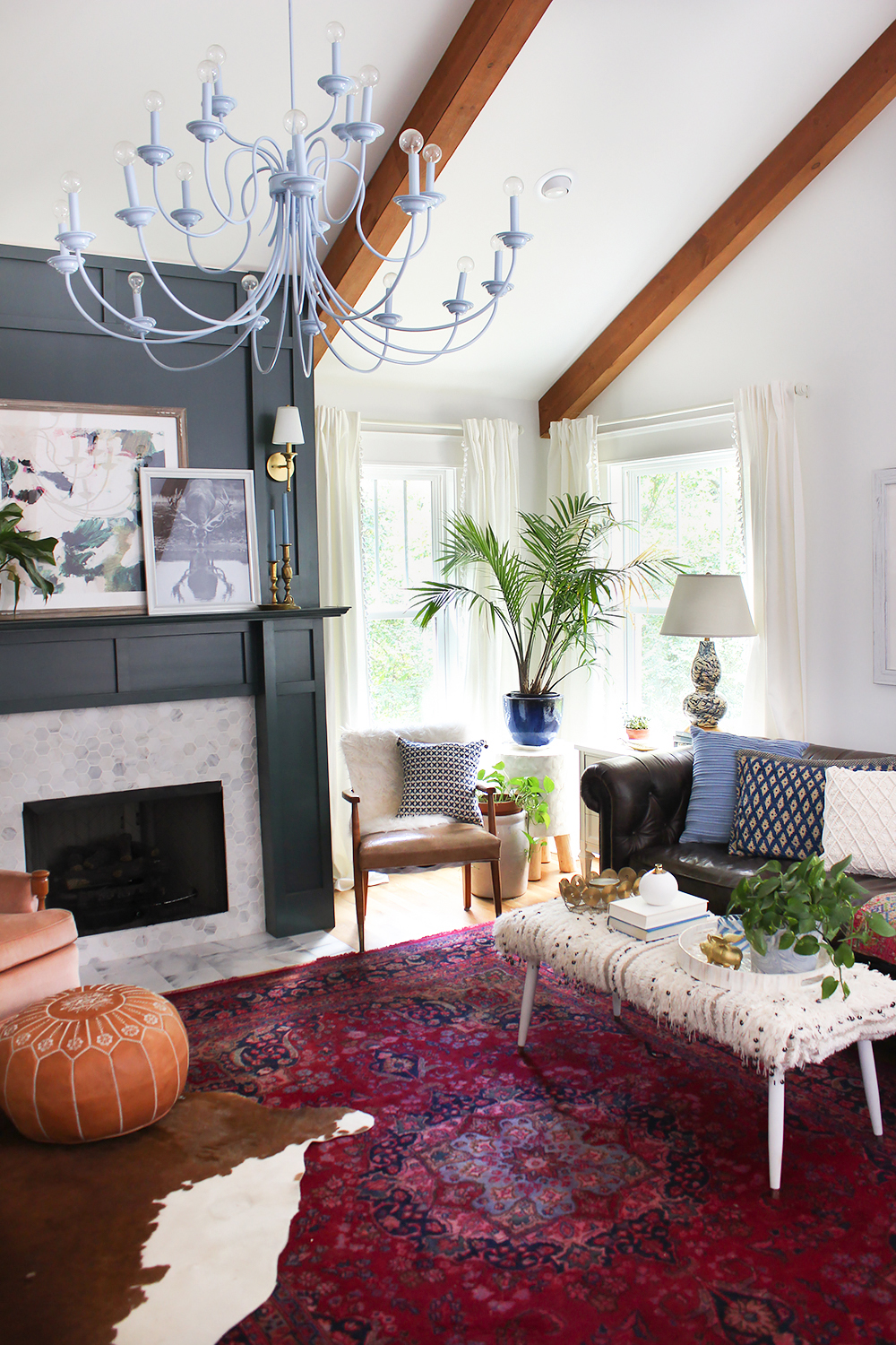 Layered Living Room Reveal Thewhitebuffalostylingco Com