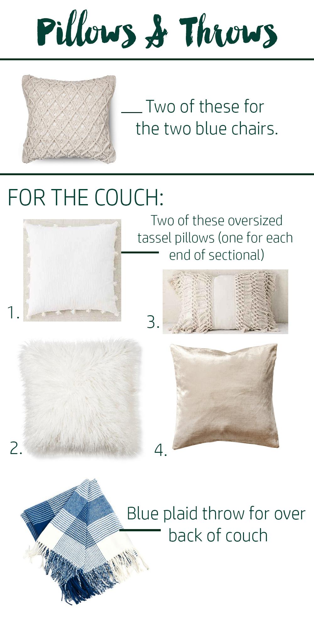 pillows & accessories