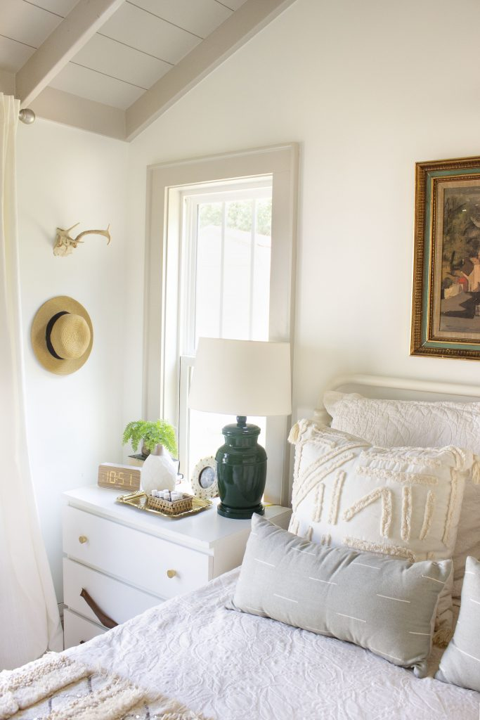 Finishing Details in the Master Bedroom - thewhitebuffalostylingco.com