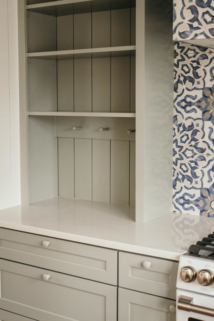 DIY Upper Kitchen Cabinets - thewhitebuffalostylingco.com